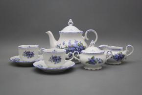 Tea set Ofelia Forget-me-not 15-piece AL