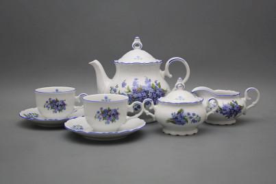 Tea set Ofelia Forget-me-not 15-piece AL č.1