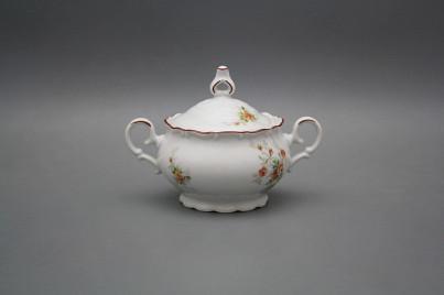 Coffee sugar bowl 0,24l Ofelia Tea roses HL č.1
