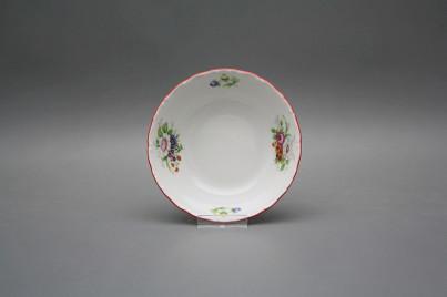 Salad dish 13cm Ofelia Meissen bouquet ECL č.1