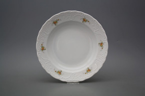 Deep plate 24cm Opera Tea roses BB