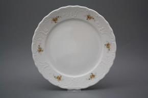 Flat plate 26cm Opera Tea roses BB