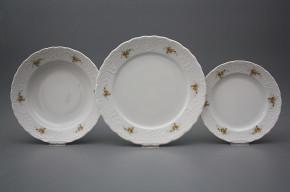 Plate set Opera Tea roses 12-piece BB