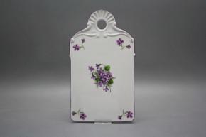 Bread tray Violets FL