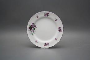 Dessert plate 19cm Ofelia Sweet violets KFL