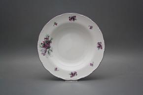 Deep plate 23cm Ofelia Sweet violets KFL