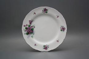 Flat plate 25cm Ofelia Sweet violets KFL