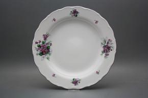 Flat round dish 31cm Verona Sweet violets KFL