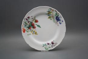 Flat plate 25cm Ofelia Flowering meadow CBB