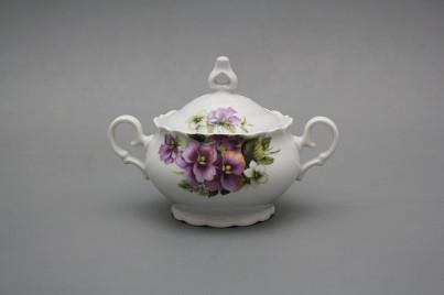 Tea sugar bowl 0,24l Ofelia Pansy BB č.1