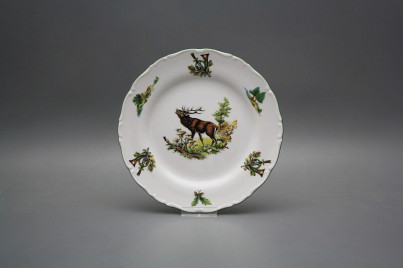 Dessert plate 19cm Ofelia Roaring stag FZL č.1