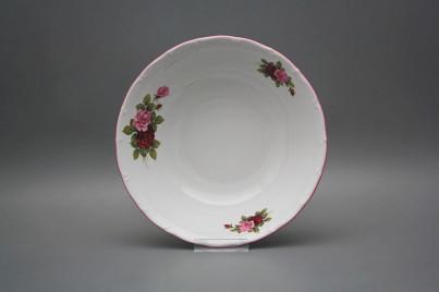 Deep dish 23cm Ofelia Elizabeth rose CRL č.1