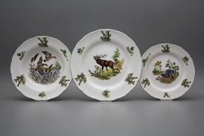 Plate set Ofelia Gamekeepers 12-piece FZL