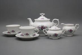 Tea set Marie Louise Sweet violets 15-piece BB