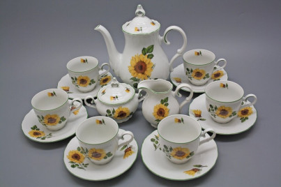 Coffee set Ofelia Sunflowers 15-piece ZL č.1