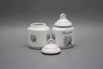 Spice jar 0,2l Lavender FL č.1