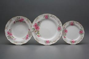 Plate set Ofelia Delight 18-piece GL