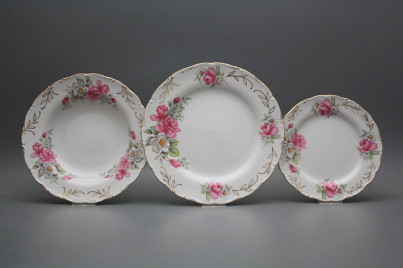 Plate set Ofelia Delight 18-piece GL č.1