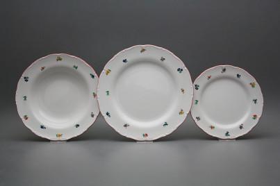 Plate set Ofelia Sprays 12-piece ACL č.1