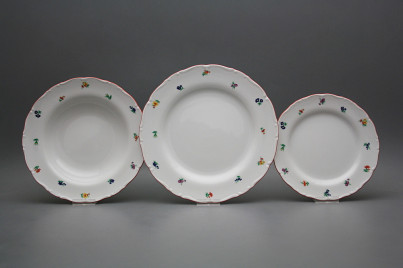 Plate set Ofelia Sprays 18-piece ACL č.1