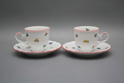 Coffee cup 0,18l and saucer Ofelia Sprays CL č.1