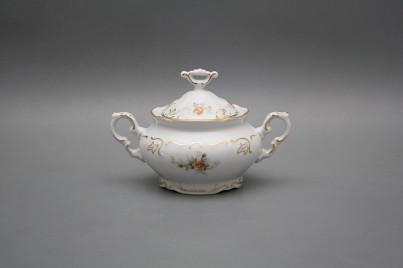 Sugar bowl 0,25l Marie Louise Tea roses GL č.1