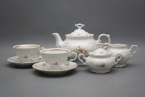 Tea set Marie Louise Tea roses 15-piece GL LUX