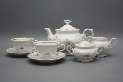 Tea set Marie Louise Tea roses 15-piece GL LUX č.1