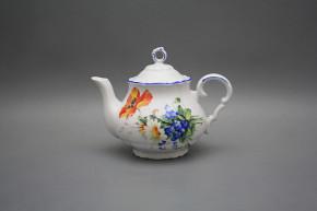 Teapot 0,75l Verona Field flowers AL