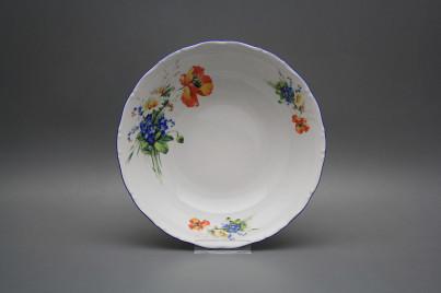 Deep dish 23cm Ofelia Field flowers CAL č.1