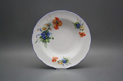 Deep plate 23cm Ofelia Field flowers CAL č.1
