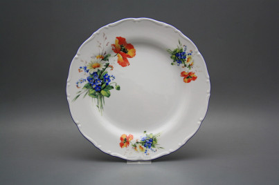 Flat plate 25cm Ofelia Field flowers CAL č.1