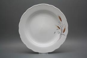 Flat round dish 31cm Verona Corn HBB