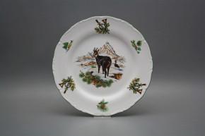 Flat plate 25cm Ofelia Chamois FZL
