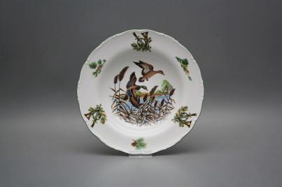 Deep plate 23cm Ofelia Mallard ducks FZL č.1