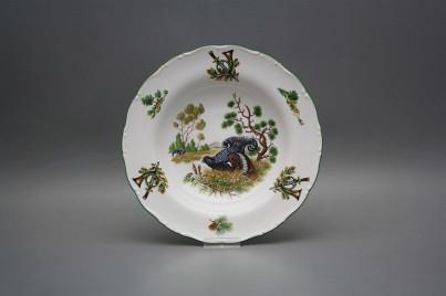 Deep plate 23cm Ofelia Black grouse FZL č.1