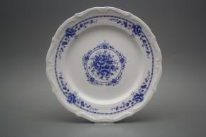 Flat plate 25cm Maria Teresa Royal Blue BB