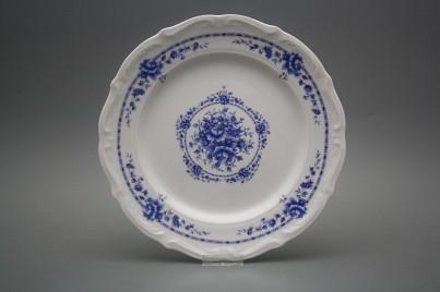 Flat plate 25cm Maria Teresa Royal Blue BB č.1