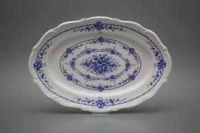 Oval dish 33cm Maria Teresa Royal Blue BB