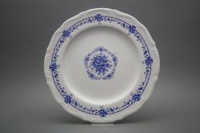 Flat round dish 32cm Maria Teresa Royal Blue BB