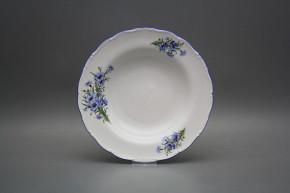 Deep plate 23cm Ofelia Cornflowers CAL