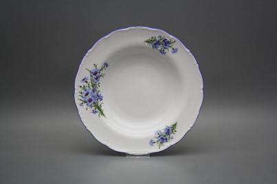 Deep plate 23cm Ofelia Cornflowers CAL č.1