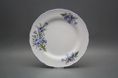 Flat plate 25cm Ofelia Cornflowers CAL č.1