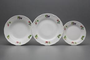 Plate set Verona Forest berries 12-piece ABB