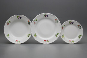 Plate set Verona Forest berries 18-piece ABB