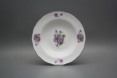 Deep plate 23cm Ofelia Violets GFL č.1