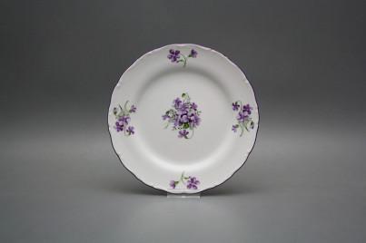 Dessert plate 19cm Ofelia Violets GFL č.1