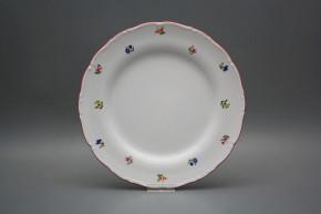 Flat plate 25cm Ofelia Flower sprays ACL