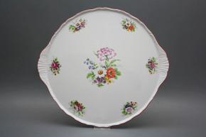 Cake dish 30,5cm Verona Meissen bouquet FCL
