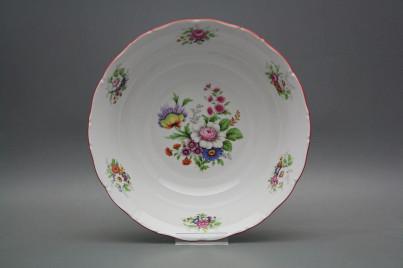 Deep dish 25cm Ofelia Meissen bouquet FCL č.1